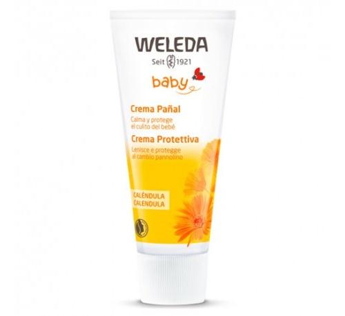 Weleda crema pañal bebe (calendula 75 ml)