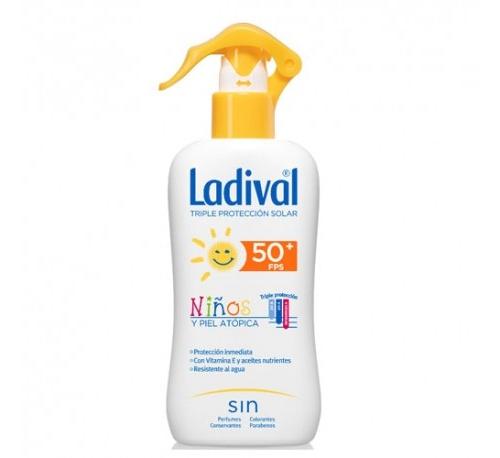 Ladival niños y pieles atopicas spray fps50+ (200 ml)