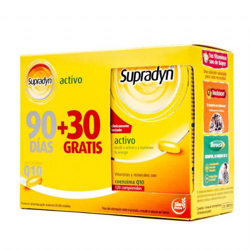 Supradyn activo (90 + 30 comprimidos)