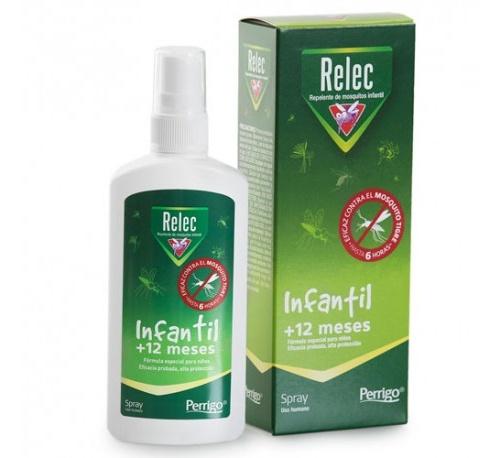 Relec infantil +12 meses repelente (100 ml)
