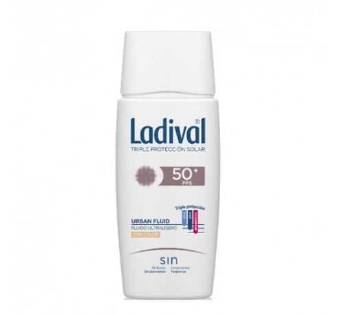 Ladival facial urban fluid pfs 50+ (color 50 ml)