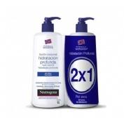 Neutrogena formula noruega hidratacion profunda - locion corporal rapida absorcion piel seca (750 ml