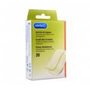 Alvita - aposito adhesivo espuma (20 u)