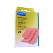 Alvita - aposito adhesivo tela (20 u)