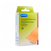 Alvita - aposito adhesivo resistente al agua (tira 10 x 6 cm 10 u)