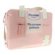 Bolsa mis primeros productos - balsamo colonia crema gel (rosa)
