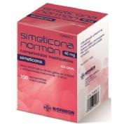 SIMETICONA NORMON 40 MG COMPRIMIDOS MASTICABLES , 100 comprimidos