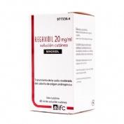 REGAXIDIL 20 mg/ml SOLUCION CUTANEA , 1 frasco de 60 ml