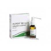 ALOPEXY 20 mg/ml, SOLUCION CUTANEA , 1 frasco de 60 ml (PET)