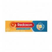 Redoxon extra defensas vitamina c + zinc (naranja 15 comprimidos efervescentes)